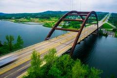 PennyBacker桥梁中央得克萨斯360桥梁 免版税库存图片