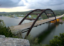 Pennybacker桥梁 库存图片
