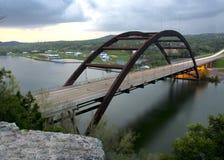 Pennybacker-Brücke stockbild