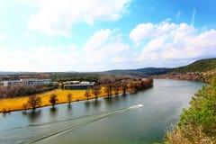 Pennybacker-Brücke oder Brücke 360 lizenzfreies stockfoto