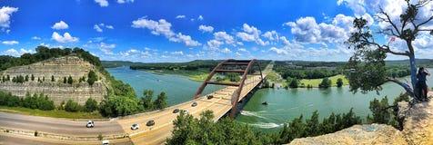 Pennybacker-Brücke oder Brücke 360 in Austin Texas Landmark stockbild