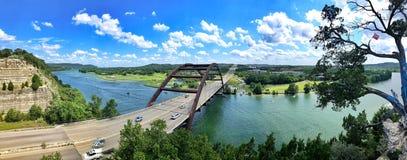 Pennybacker-Brücke oder Brücke 360 in Austin Texas Landmark lizenzfreie stockfotografie