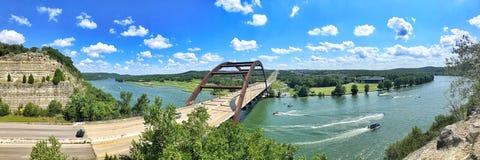 Pennybacker-Br?cke oder Br?cke 360 Austin Texas Landmark lizenzfreies stockbild
