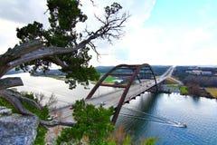 Pennybacker bro eller bro 360 royaltyfria bilder