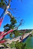 Pennybacker bro eller bro 360 en Austin Texas Landmark arkivfoton