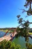 Pennybacker bro eller bro 360 en Austin Texas Landmark arkivbilder