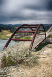 Pennybacker most Austin Teksas Fotografia Royalty Free