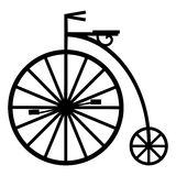 pennyfarthing vektor illustrationer
