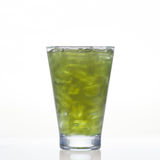 Pennywort or asiatic cold herbal drink in glass  Stock Photo