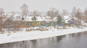 Peno town in Russia Stock Photography