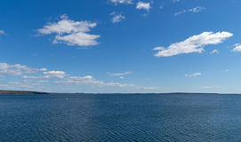 Penobscot Bay in Searsport, Maine Stock Photos