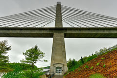 Penobscot Narrows Bridge - Maine Royalty Free Stock Photos