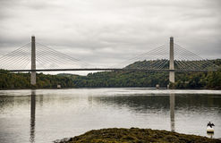 Penobscot Narrows Bridge Stock Photos