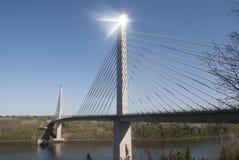 Penobscot restringe il ponte e l'osservatorio Immagini Stock Libere da Diritti