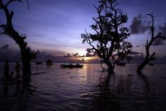 Penombra in Bunaken Fotografia Stock