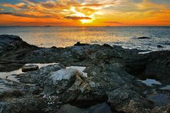 Penombra dell'oceano Fotografie Stock