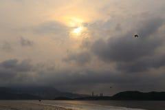 Penombra della costa Fotografia Stock Libera da Diritti
