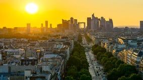 Penombra a Parigi Fotografie Stock
