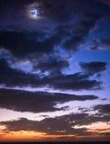 Penombra sopra il Pacifico Fotografia Stock Libera da Diritti