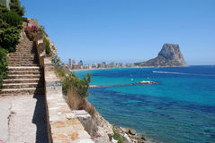 Penon de ifach Royalty Free Stock Photo