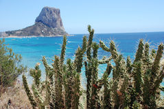 Penon de ifach Royalty Free Stock Images