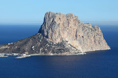 Penon de Ifach Rock, Spain Royalty Free Stock Photos