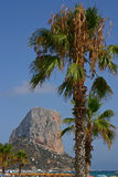 Penon Ifach   Royalty Free Stock Images
