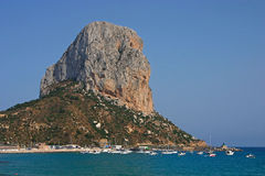 Penon Ifach  Stock Images