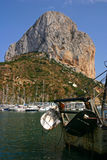 Penon Ifach   Royalty Free Stock Photography