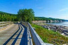 Penouille-Sektor Nationalparks Forillon lizenzfreies stockbild