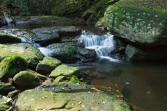 The Penpob Waterfall Royalty Free Stock Images