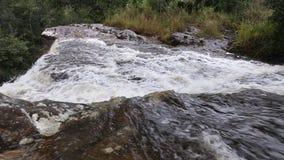 Penpobmai waterfall in Phu Kradueng National Park, Loei province, Thailand stock footage