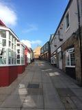 Penrith, Cumbria, calle sin gente fotos de archivo