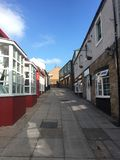 Penrith, Cumbria, rua sem povos fotos de stock