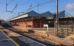 Penrith Railway Station Royalty Free Stock Images