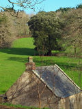 Penrose Estate Cornwall. The old bath house on the Penrose estate near Helston in Cornwall Royalty Free Stock Photo