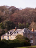 Penrose Estate Manor House. The manor house on the Penrose Estate near Helston in Cornwall Royalty Free Stock Photos