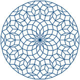 Penrose Tiling Royalty Free Stock Photography