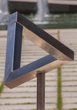 Penrose triangle Stock Photos