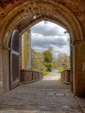 Penryhn Castle Arch Stock Photography