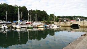 Penryn Cornwall Engeland stock videobeelden