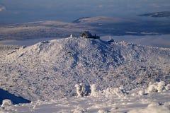 Pensão da montanha de Szrenica em montanhas gigantes/Karkonosze Foto de Stock Royalty Free
