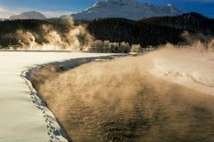 Pensão do rio Foto de Stock Royalty Free