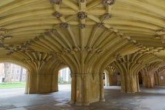 A pensão Londres de Undercroft Lincolns da capela Fotografia de Stock