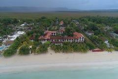 Pensão Negril Jamaica de Charela do recurso imagens de stock royalty free
