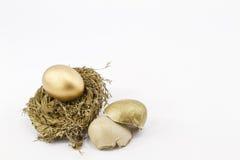Pensão perdida, aposentadoria quebrada Imagem de Stock Royalty Free