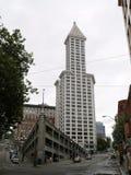 Pensão Seattle da construção de Smith Tower Fotografia de Stock Royalty Free