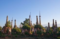 Pensão Thein Paya, Myanmar fotos de stock royalty free