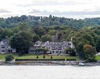 Pensão velha em Maine Coast Imagens de Stock Royalty Free