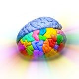 pensée d'original de créativité de cerveau Photo libre de droits